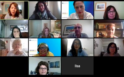 Reunión virtual con representantes de los Institutos Internaciones de HighScope
